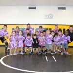 wrestling grp purple tie dye grp stance