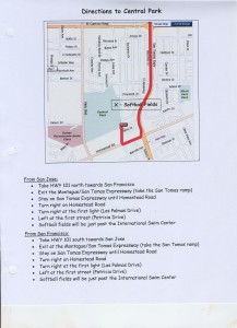 Map to Central Park